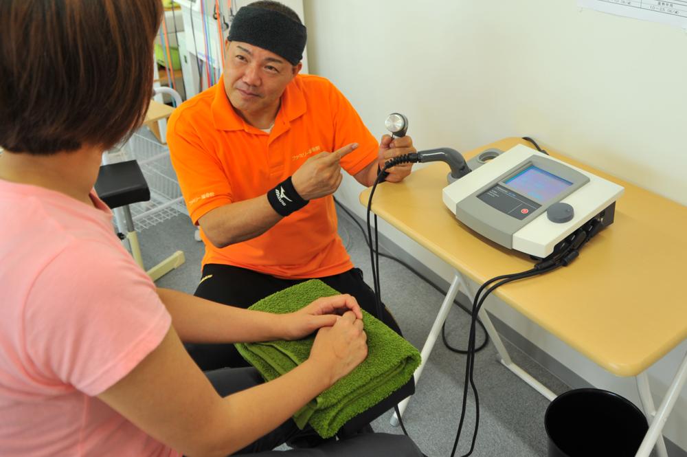 特殊機器治療(超音波)